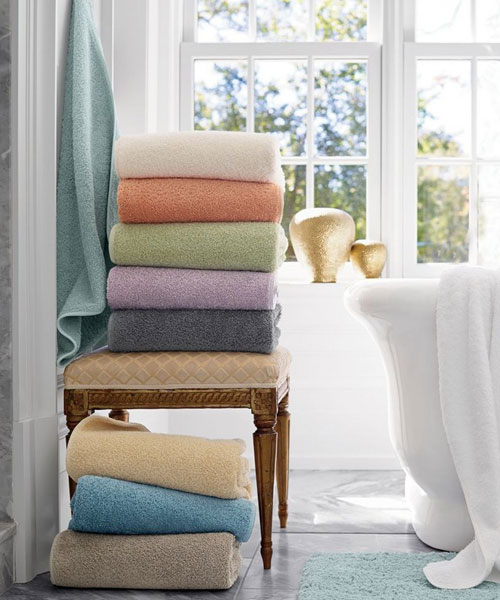 bath towels from scandia, indulgence