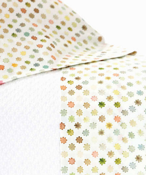 watercolor dots bedding
