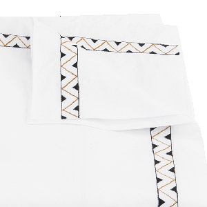 bedding from matouk, prado